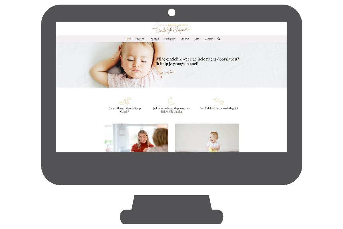 Página web para asesora de niños