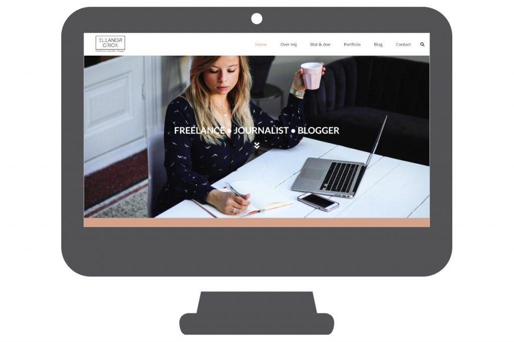 WordPress website for a journalist