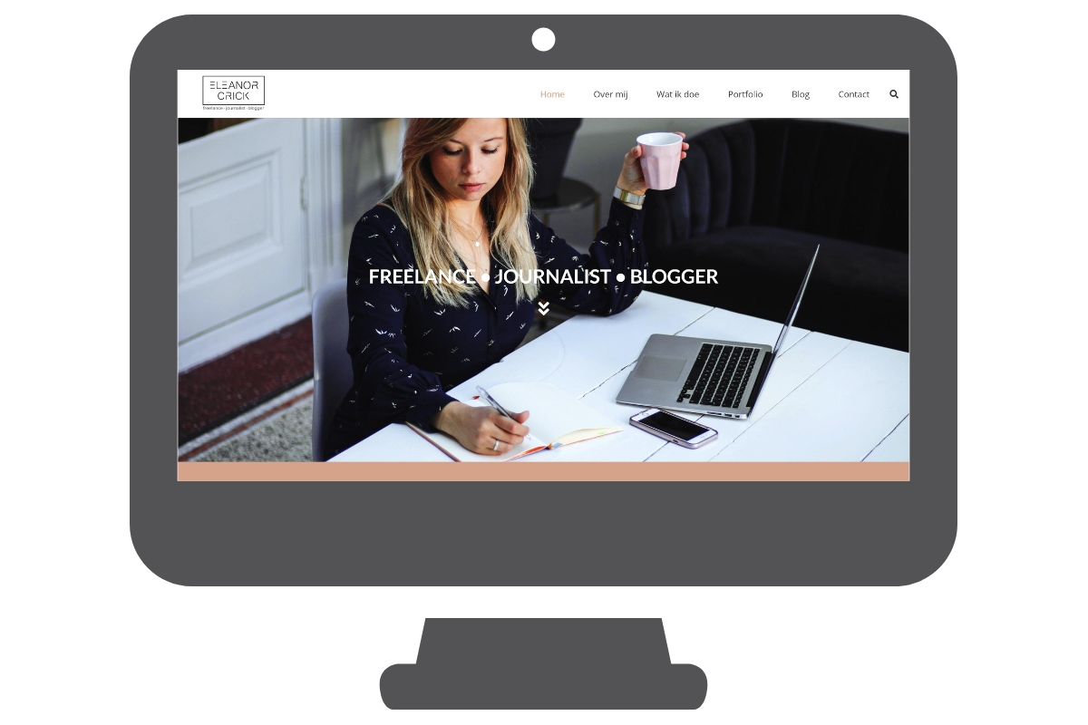 Página web WordPress para periodista
