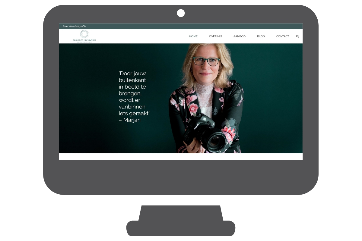 Website photographer portfolio