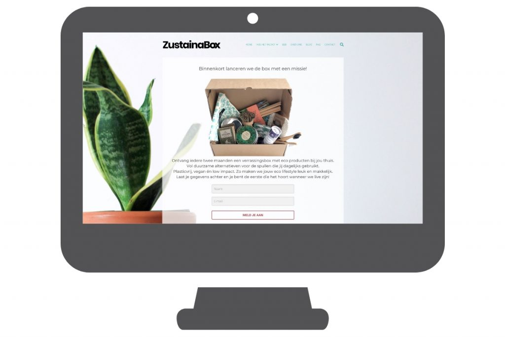Shopping website woocommerce